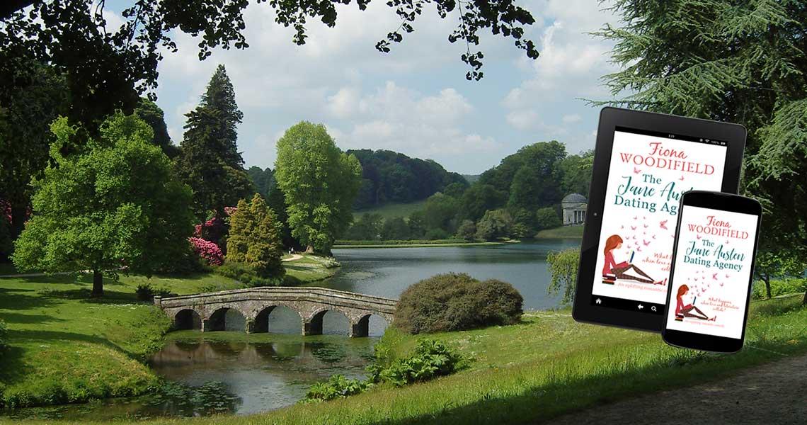 view of Stourhead Gardens
