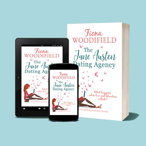 The Jane Austen Dating Agency book jacket
