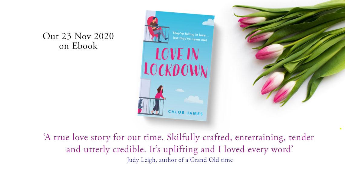 Love in Lockdown book announcement